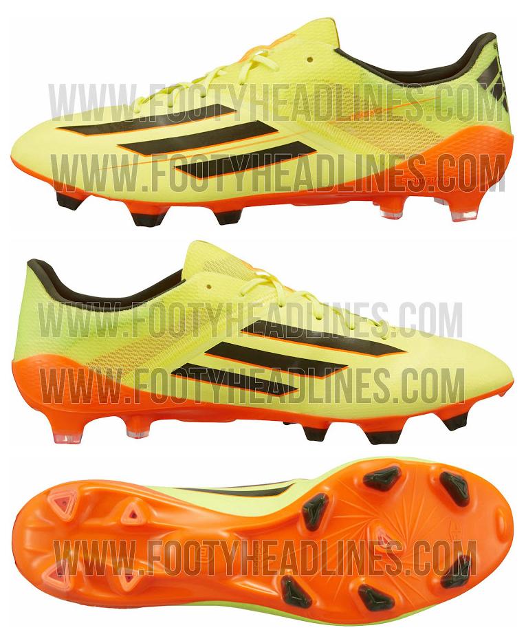 Adidas Adizero IV 2014 Yellow.jpg