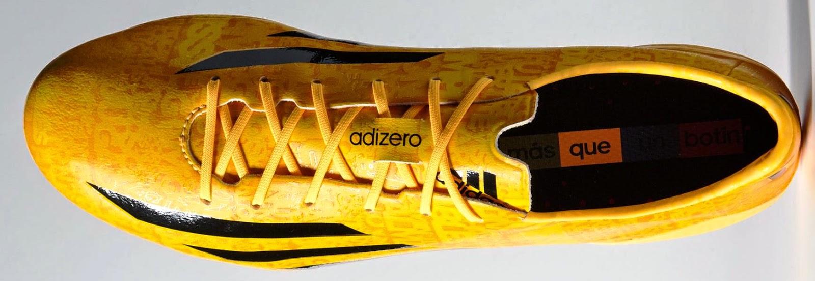Adidas F50 adiZero 4 Messi Edition - solar gold-black-black - 2.jpg