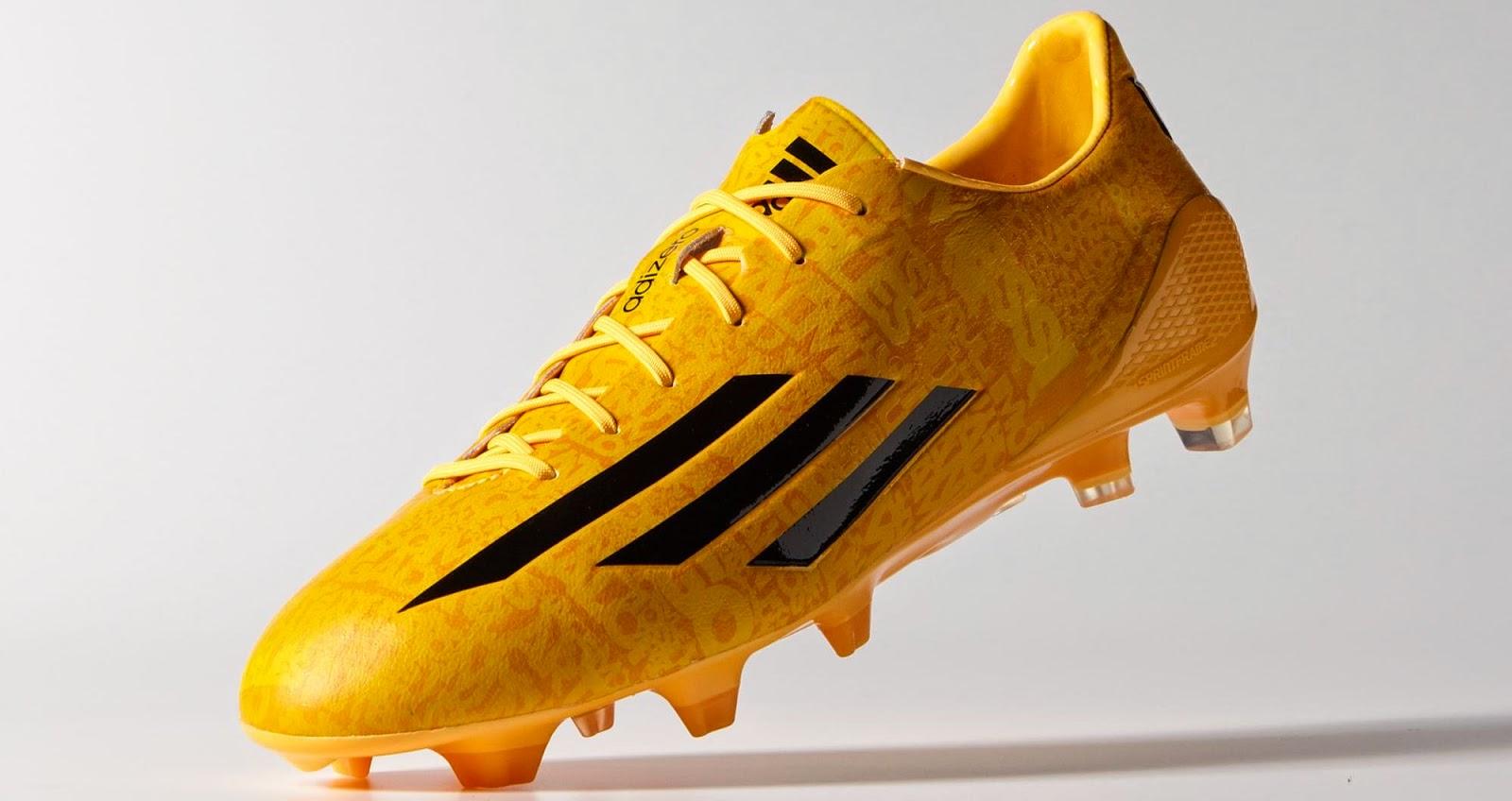 Adidas F50 adiZero 4 Messi Edition - solar gold-black-black - 3.jpg