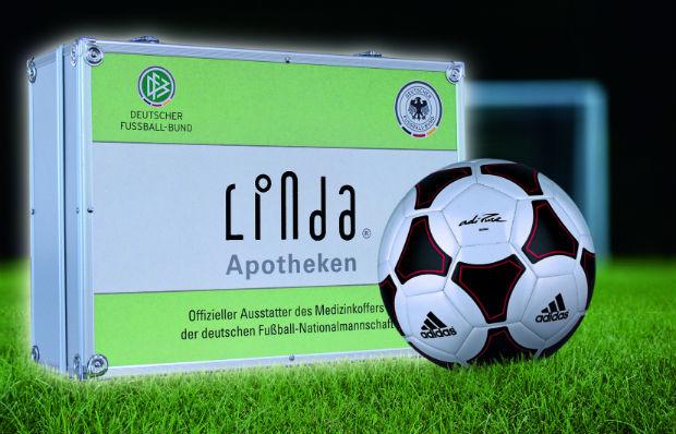 DFB-Medizinkoffer der LINDA Apotheken